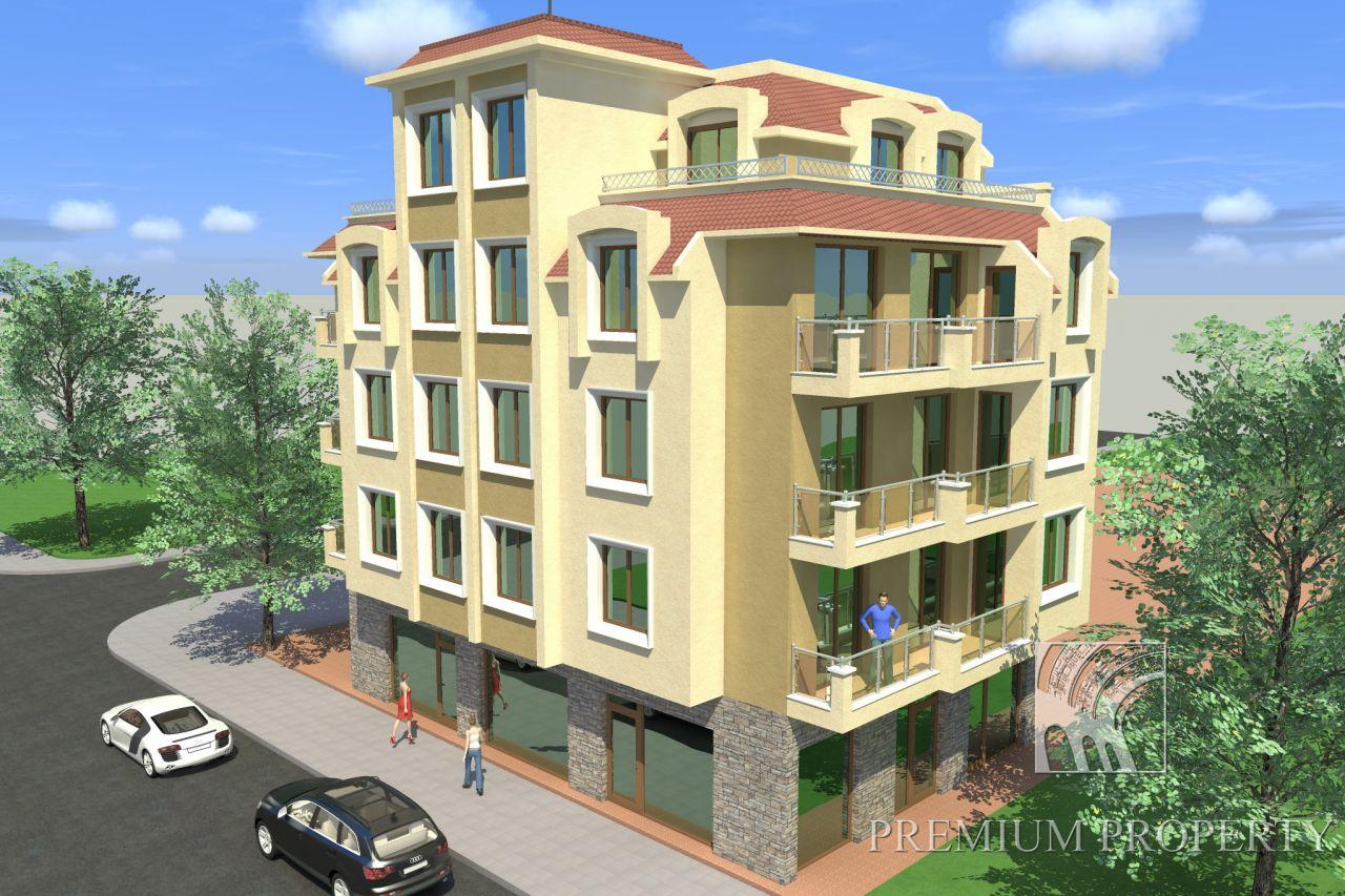 Апартаменты в Несебре, Болгария, 42.93 м2 - фото 1