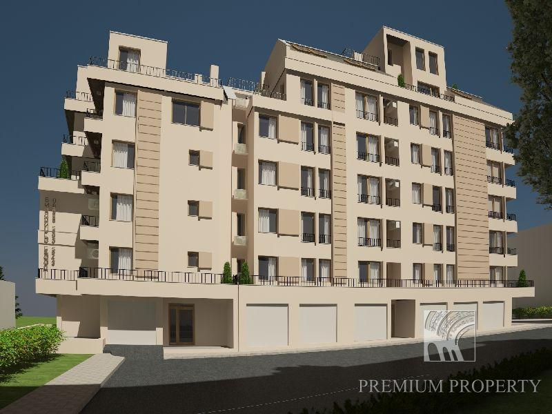 Апартаменты в Бургасе, Болгария, 55.32 м2 - фото 1