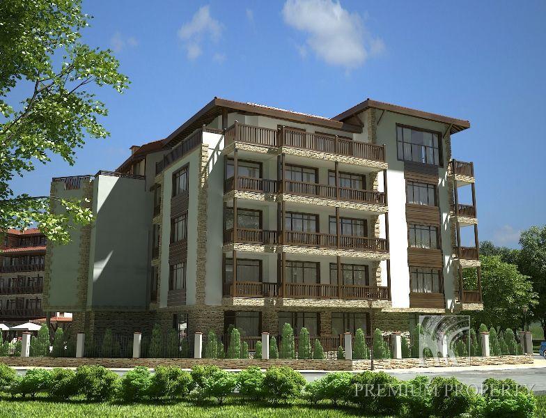 Апартаменты в Приморско, Болгария, 54.58 м2 - фото 1