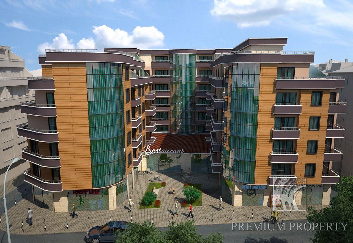 Апартаменты в Поморие, Болгария, 93.39 м2 - фото 1