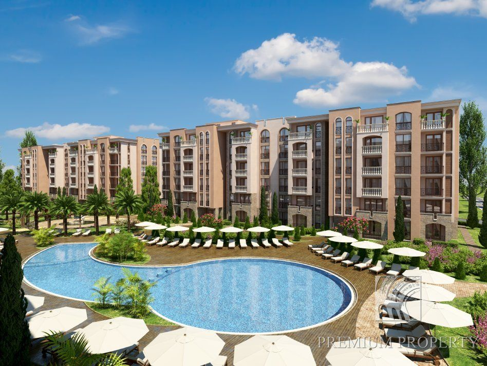 Апартаменты на Солнечном берегу, Болгария, 60.95 м2 - фото 1