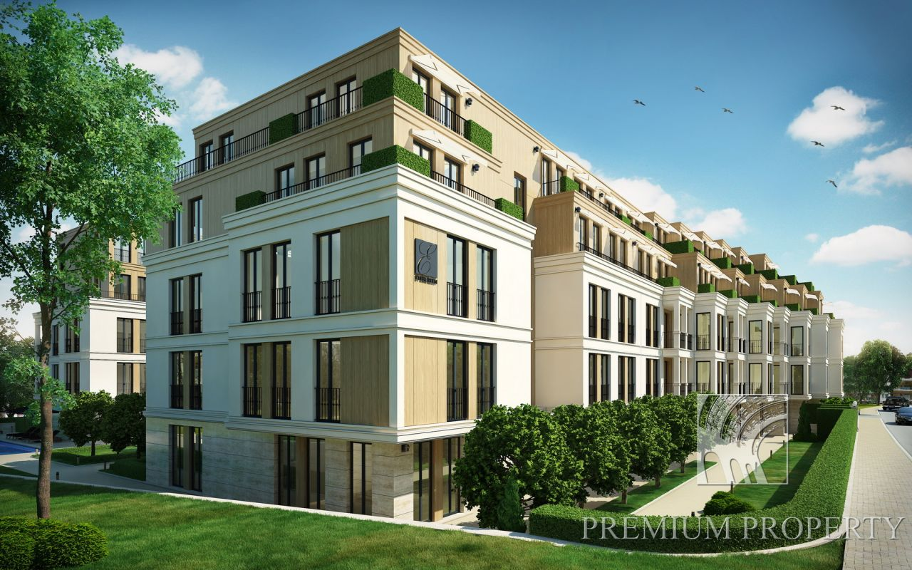Апартаменты в Варне, Болгария, 113.92 м2 - фото 1