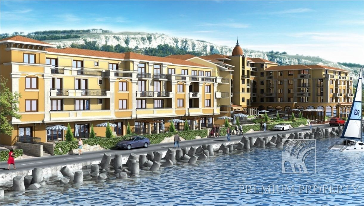 Апартаменты в Балчике, Болгария, 74.32 м2 - фото 1