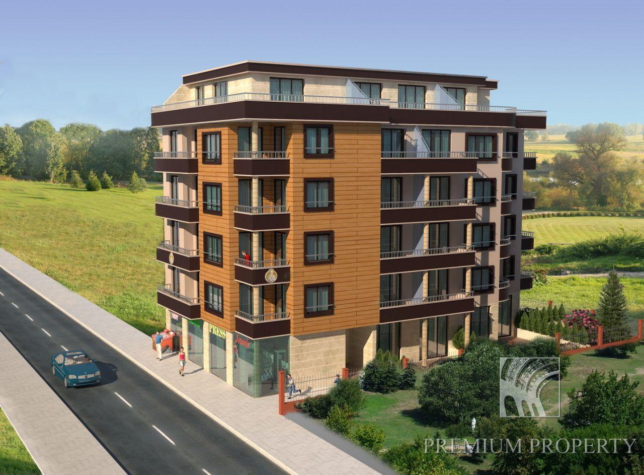 Апартаменты в Поморие, Болгария, 56.8 м2 - фото 1