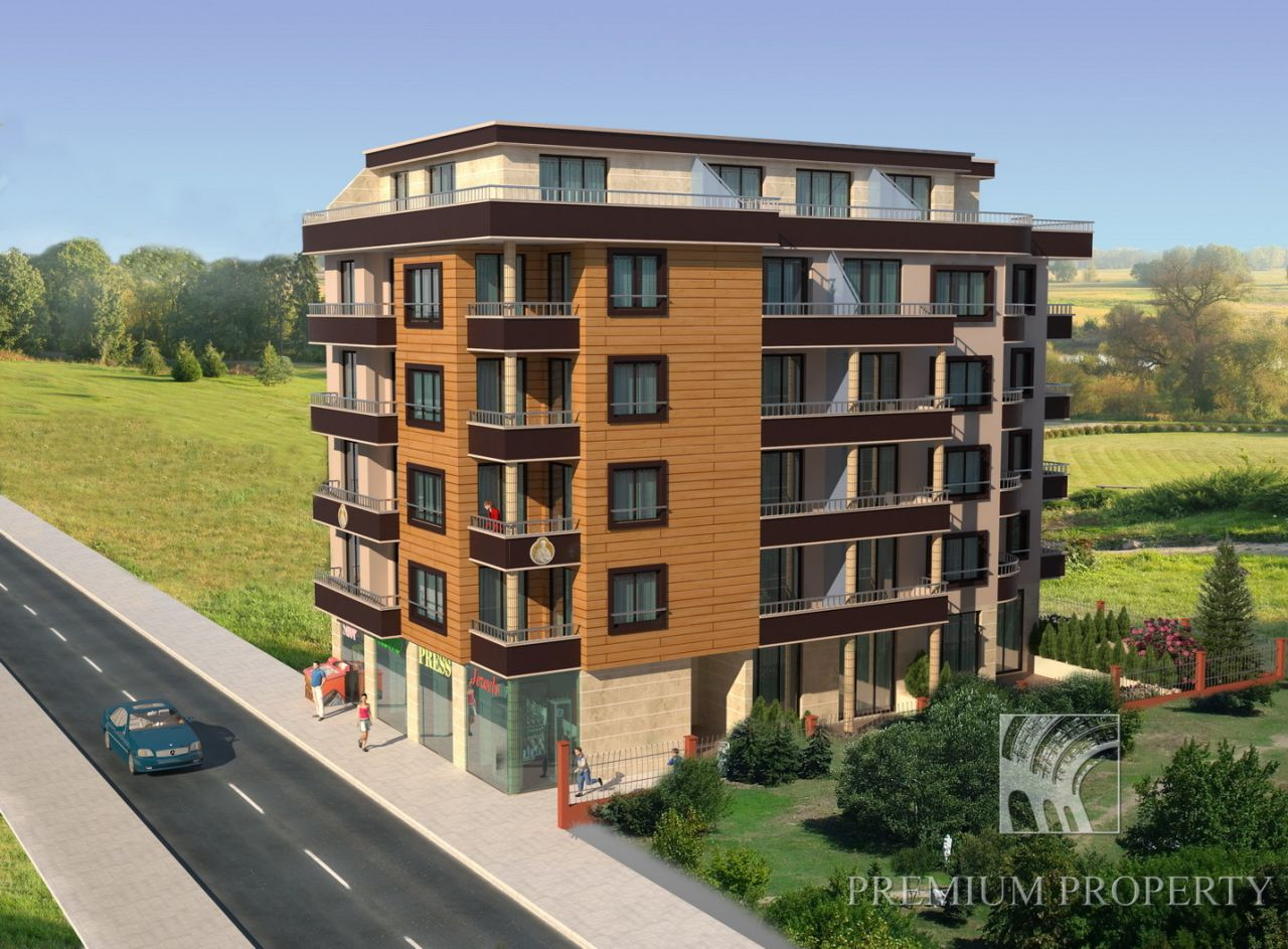 Апартаменты в Поморие, Болгария, 56.7 м2 - фото 1