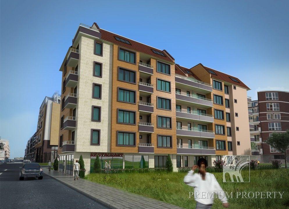 Апартаменты в Поморие, Болгария, 70.37 м2 - фото 1