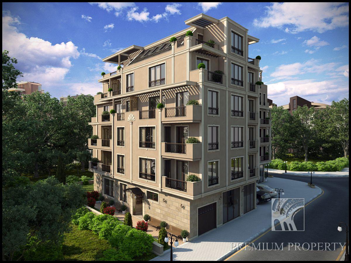 Апартаменты в Поморие, Болгария, 46.2 м2 - фото 1