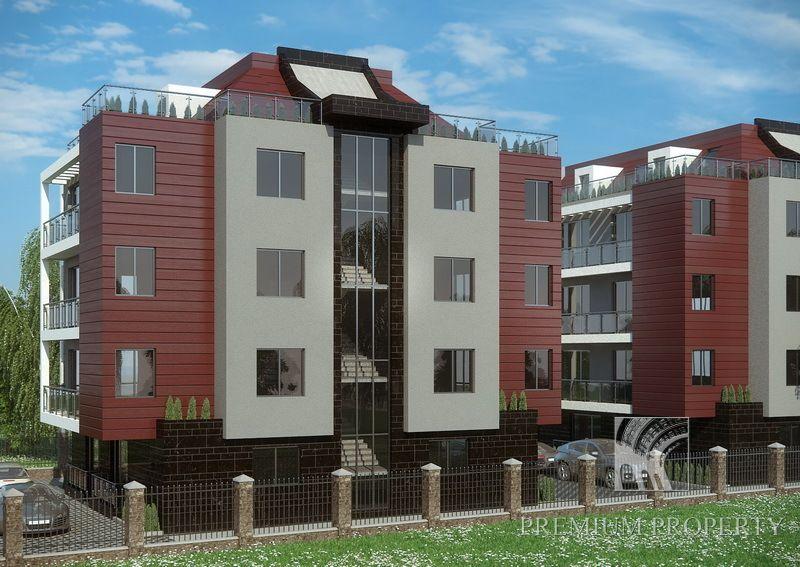 Апартаменты в Приморско, Болгария, 48 м2 - фото 1