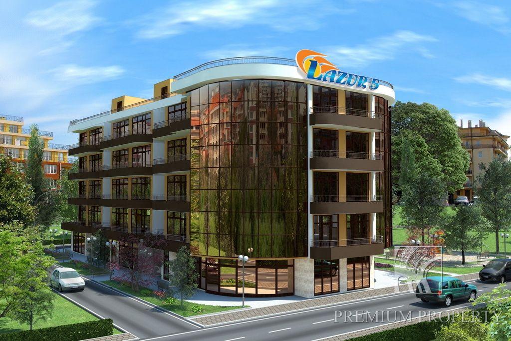 Апартаменты в Поморие, Болгария, 55.62 м2 - фото 1