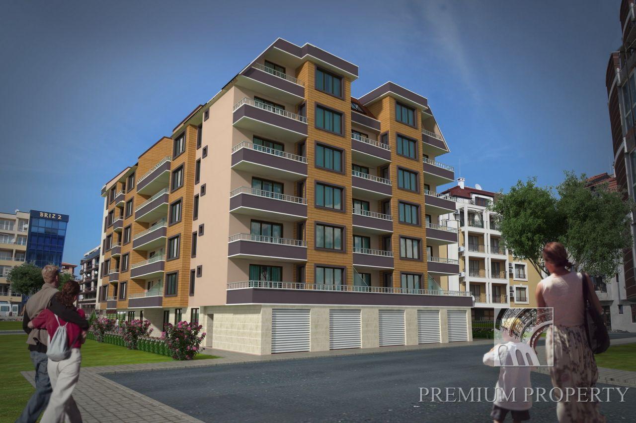 Апартаменты в Поморие, Болгария, 74.27 м2 - фото 1