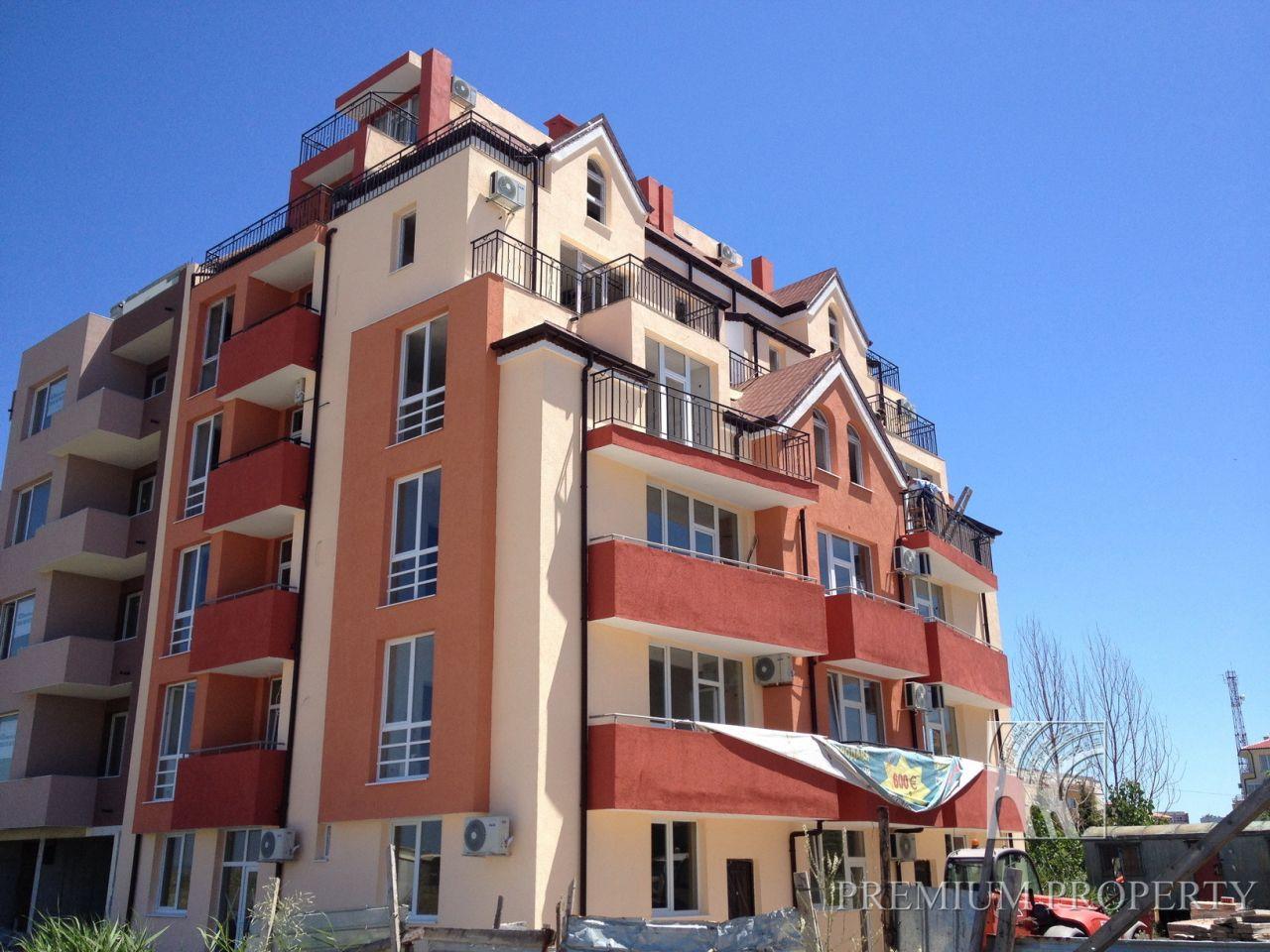 Апартаменты в Поморие, Болгария, 44.46 м2 - фото 1