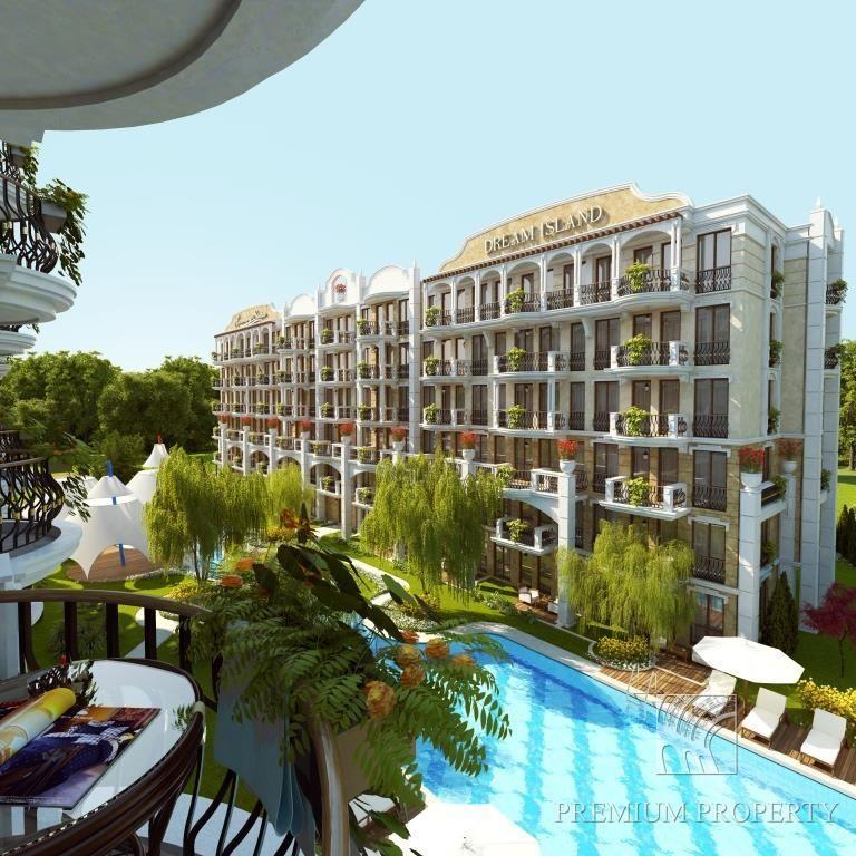 Апартаменты на Солнечном берегу, Болгария, 47.83 м2 - фото 1