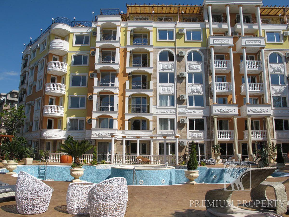 Апартаменты на Солнечном берегу, Болгария, 50.7 м2 - фото 1