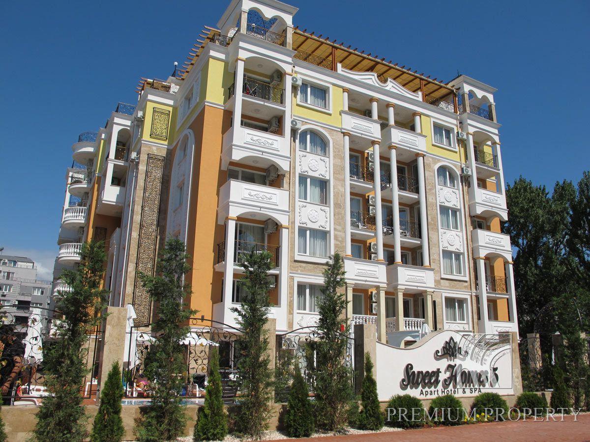 Апартаменты на Солнечном берегу, Болгария, 50.45 м2 - фото 1