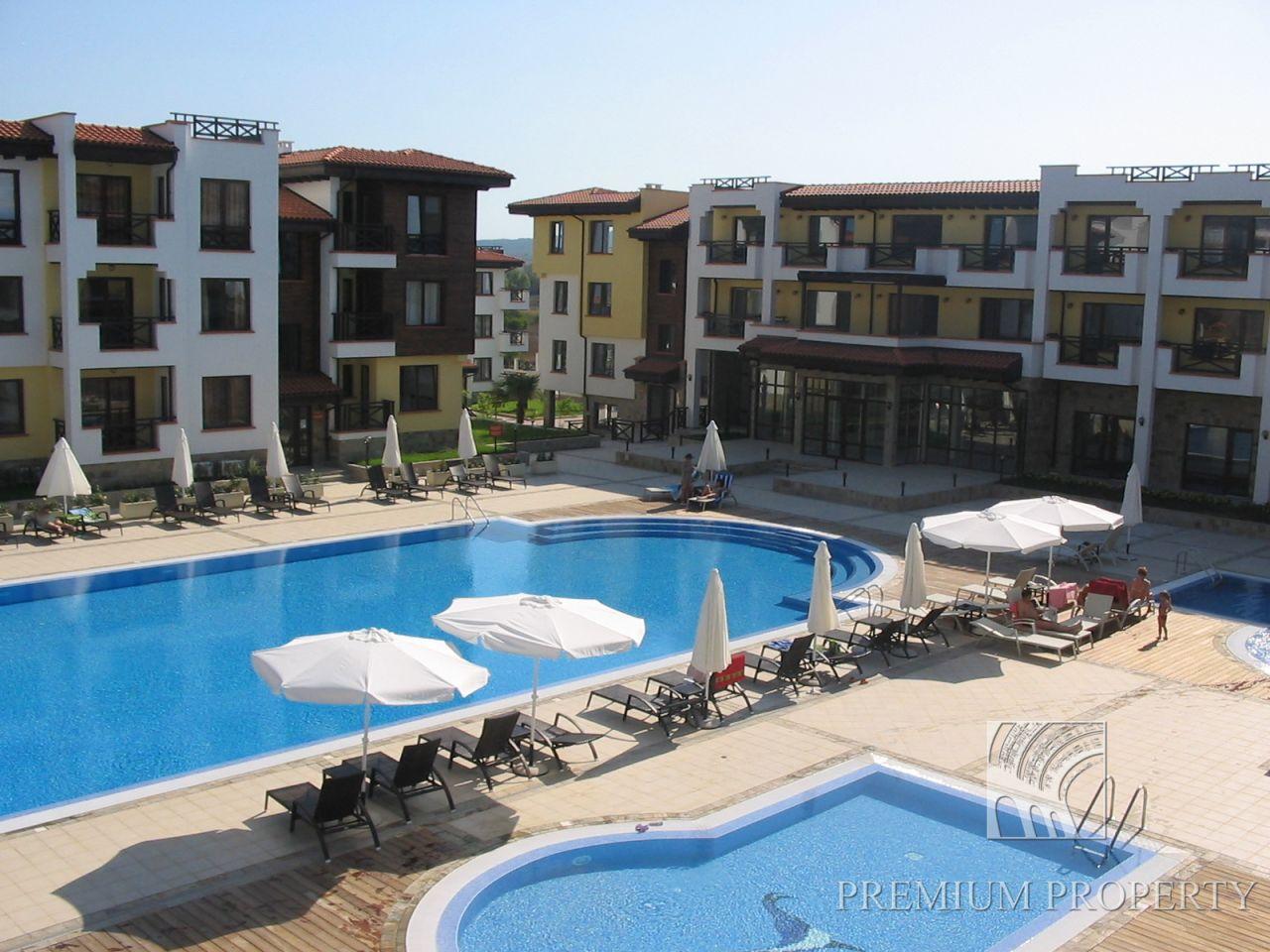 Апартаменты в Черноморце, Болгария, 62.55 м2 - фото 1