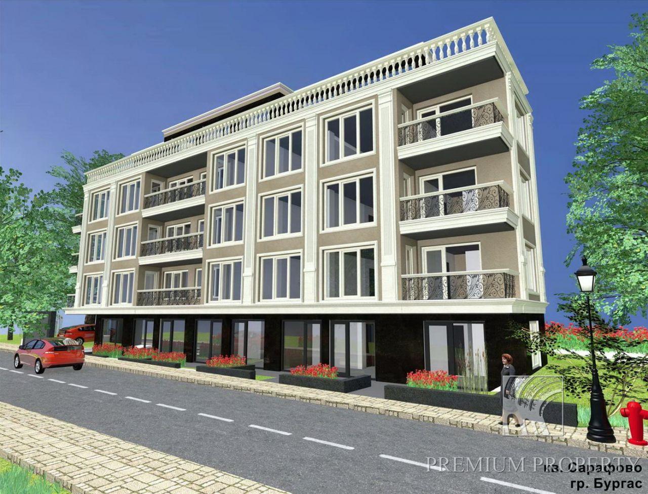 Апартаменты в Сарафово, Болгария, 55.9 м2 - фото 1
