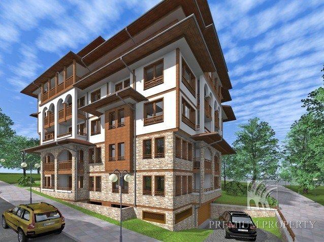 Апартаменты в Святом Власе, Болгария, 28.59 м2 - фото 1