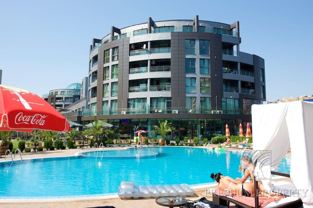 Апартаменты на Солнечном берегу, Болгария, 53.99 м2 - фото 1