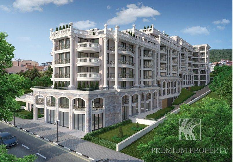 Апартаменты в Святом Власе, Болгария, 60.48 м2 - фото 1
