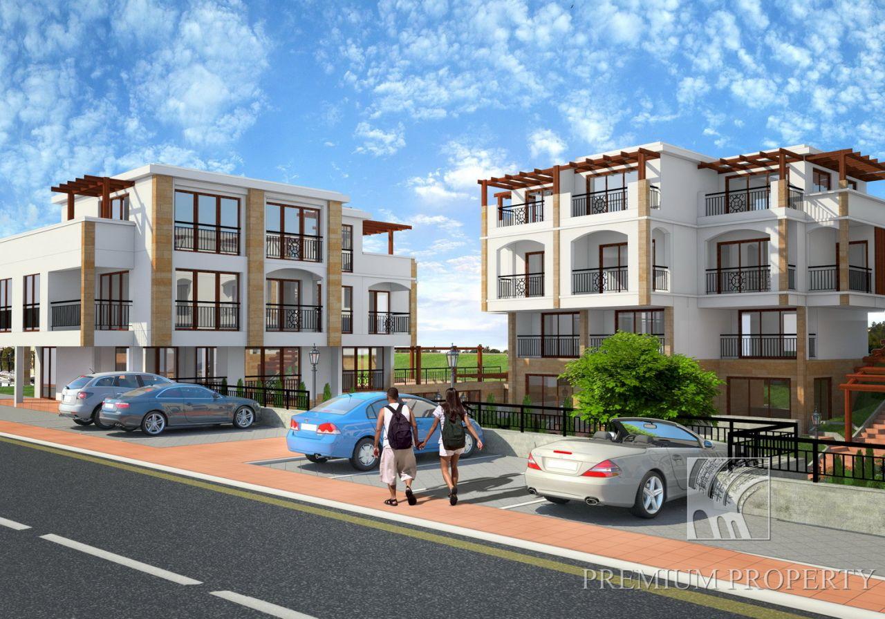 Апартаменты в Созополе, Болгария, 60.6 м2 - фото 1