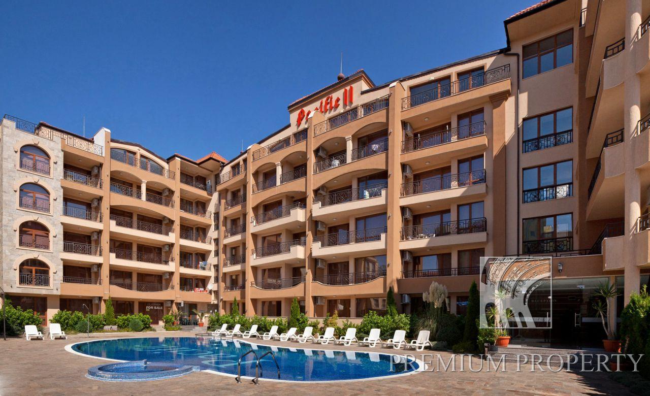 Апартаменты на Солнечном берегу, Болгария, 70.72 м2 - фото 1