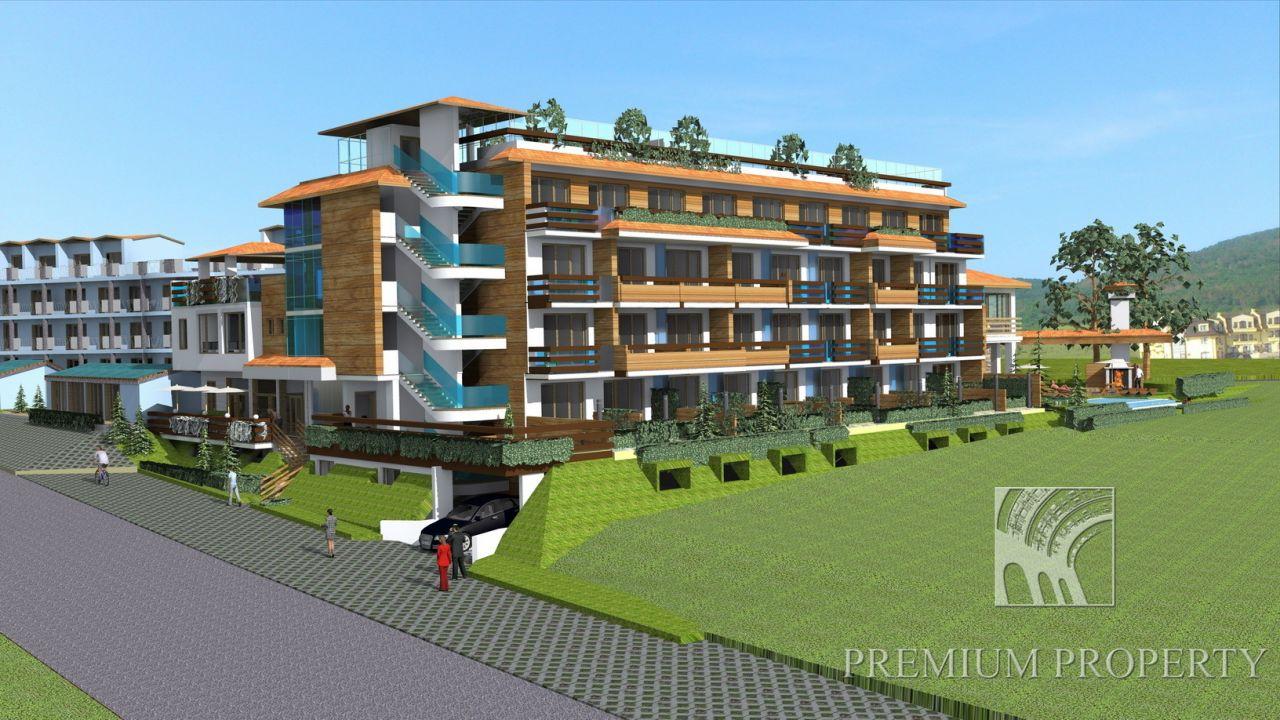 Апартаменты в Кошарице, Болгария, 46.1 м2 - фото 1
