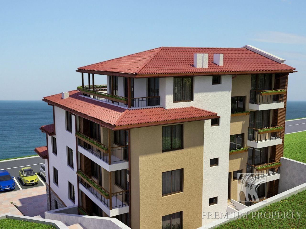 Апартаменты в Созополе, Болгария, 72.74 м2 - фото 1