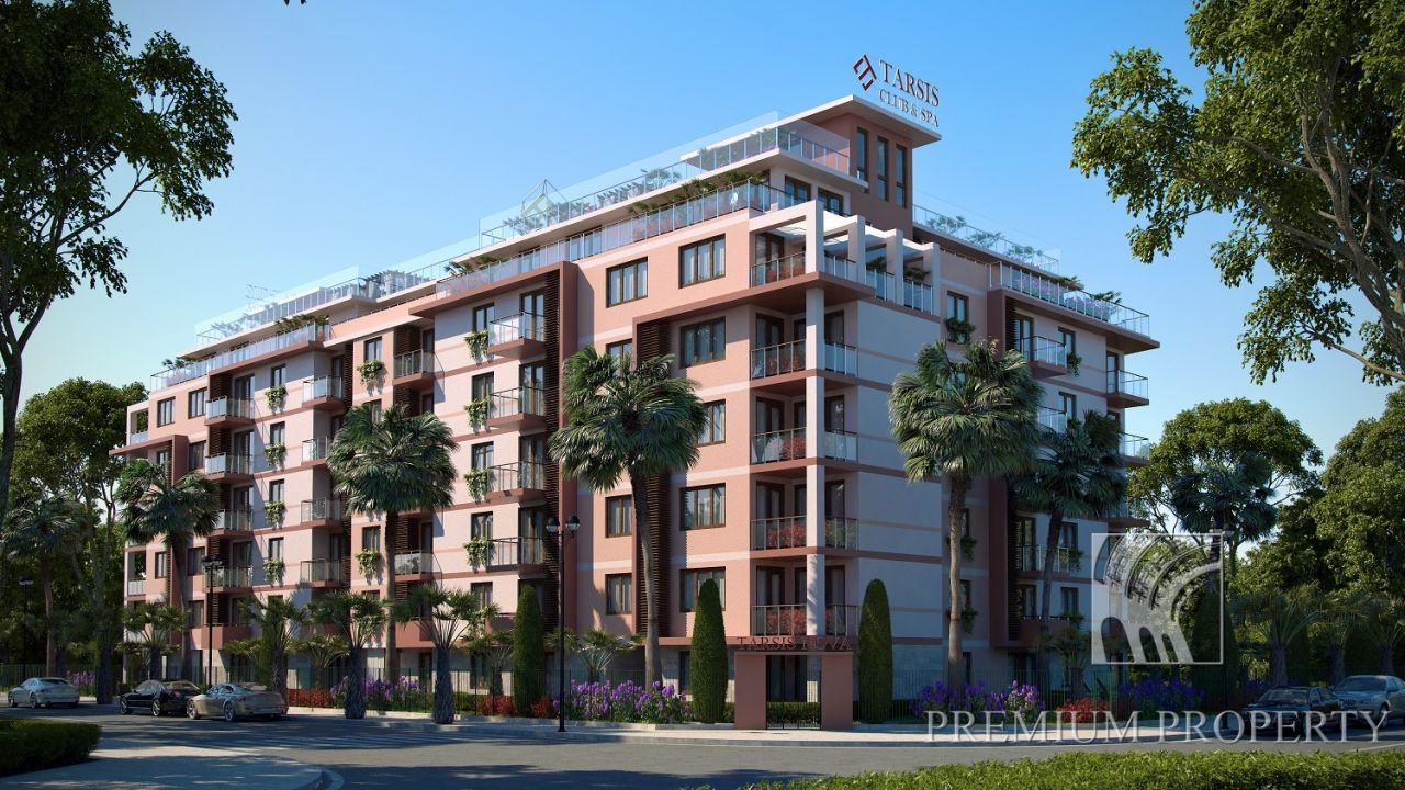 Апартаменты на Солнечном берегу, Болгария, 56.58 м2 - фото 1