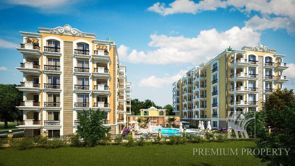 Апартаменты в Святом Власе, Болгария, 54.71 м2 - фото 1