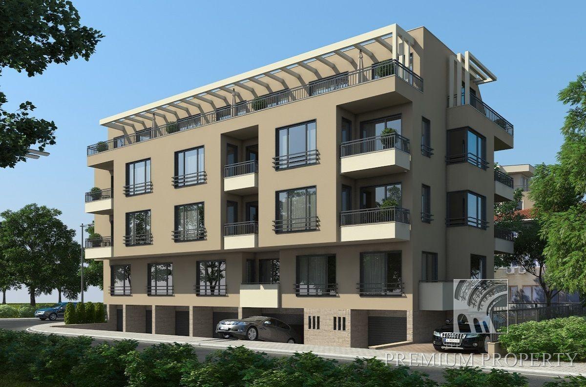 Апартаменты в Поморие, Болгария, 52.6 м2 - фото 1