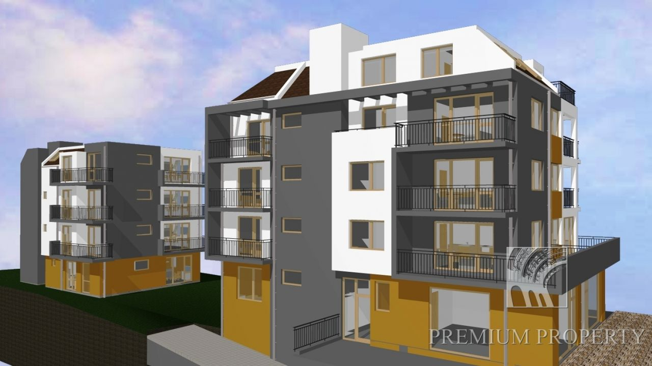 Апартаменты в Сарафово, Болгария, 57.57 м2 - фото 1