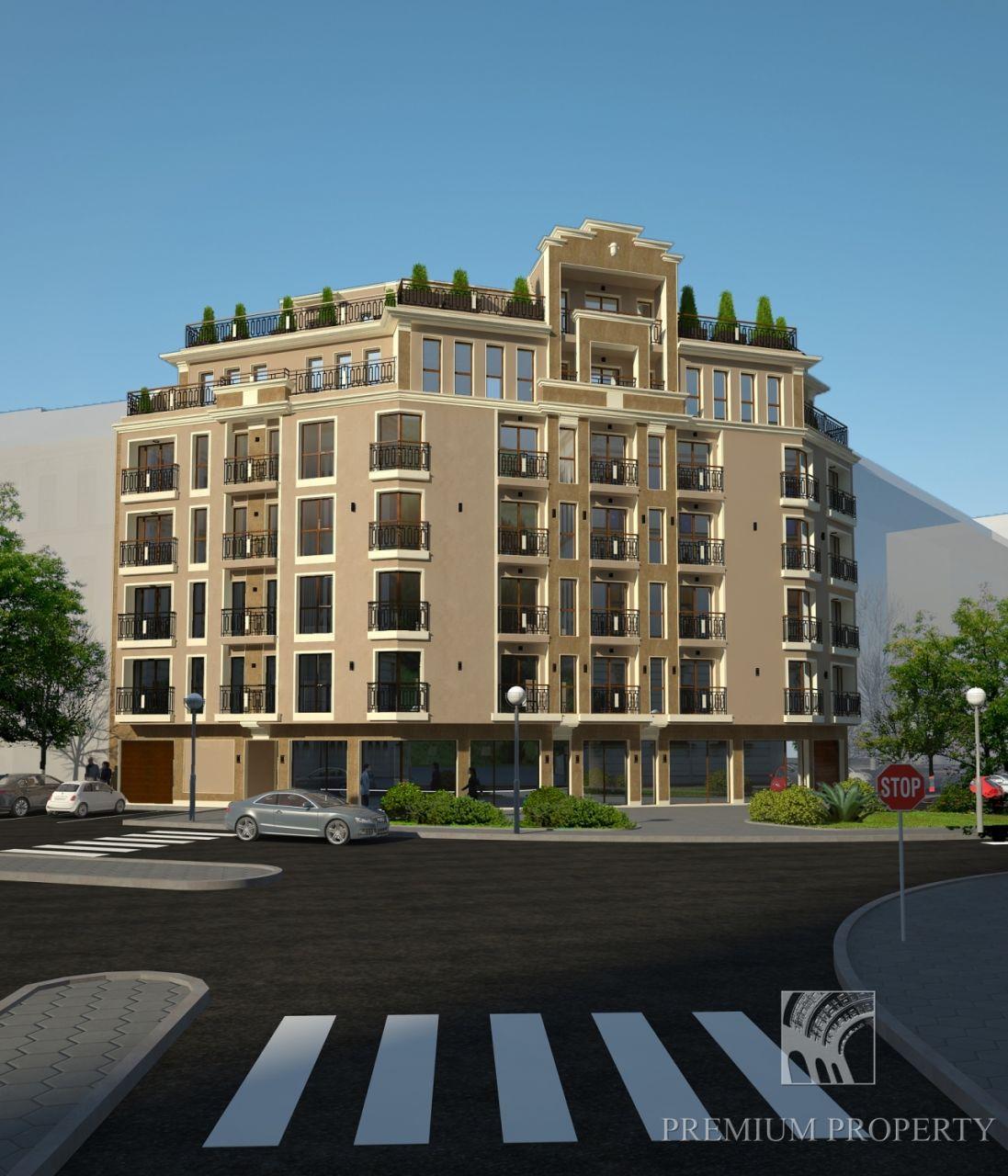 Апартаменты в Бургасе, Болгария, 60.67 м2 - фото 1