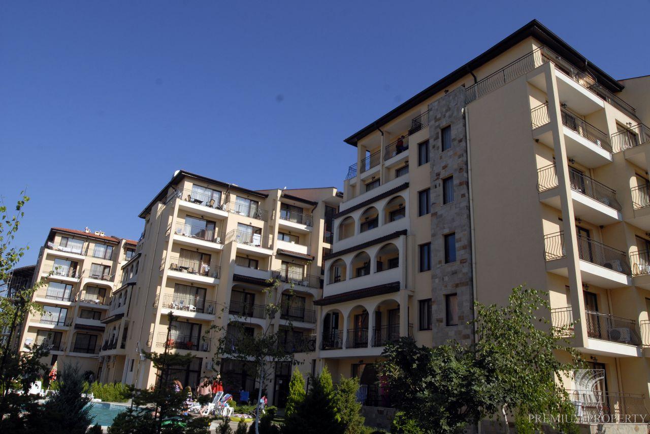 Апартаменты на Солнечном берегу, Болгария, 57.08 м2 - фото 1