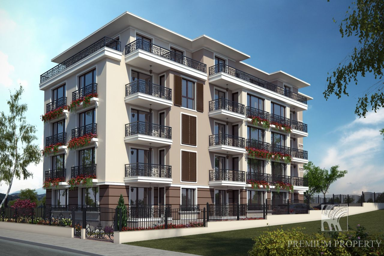 Апартаменты в Обзоре, Болгария, 55.83 м2 - фото 1