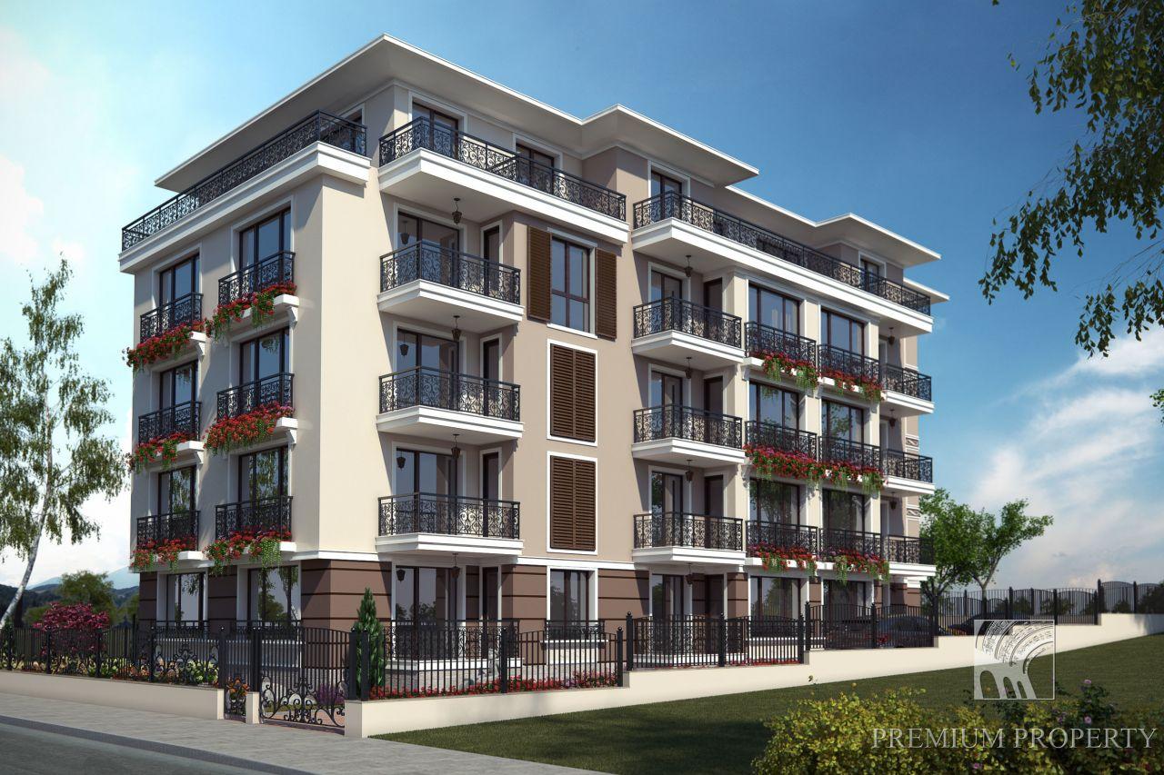 Апартаменты в Обзоре, Болгария, 54.53 м2 - фото 1