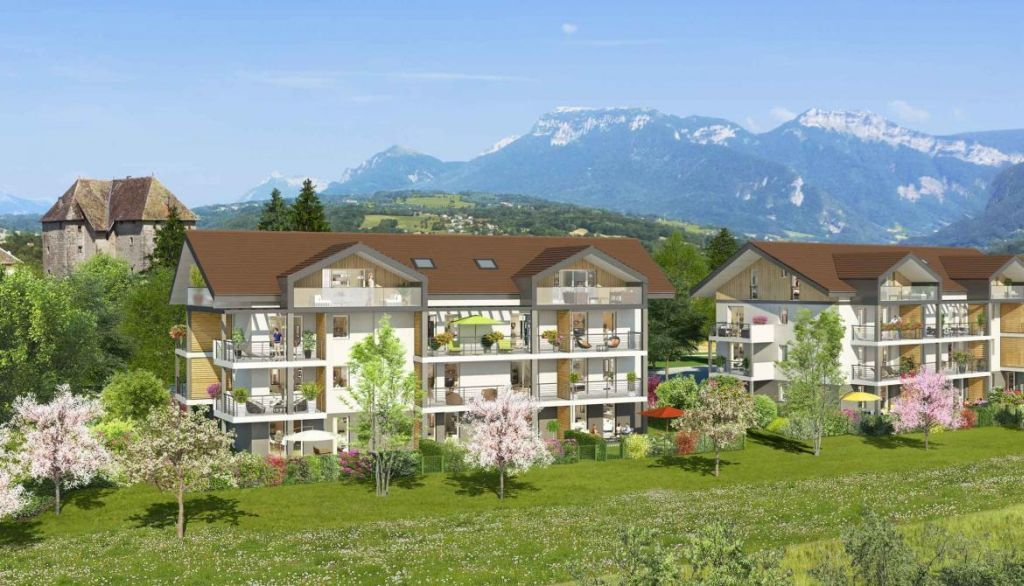 Квартира в Анси, Франция, 45 м2 - фото 1