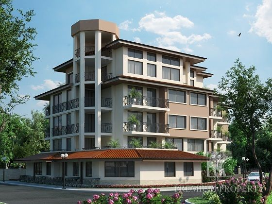Апартаменты в Приморско, Болгария, 79.86 м2 - фото 1