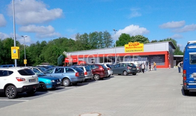 Магазин в Саксонии, Германия, 1157 м2 - фото 1