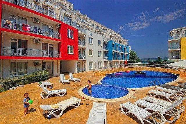 Апартаменты в Бургасской области, Болгария, 58 м2 - фото 1