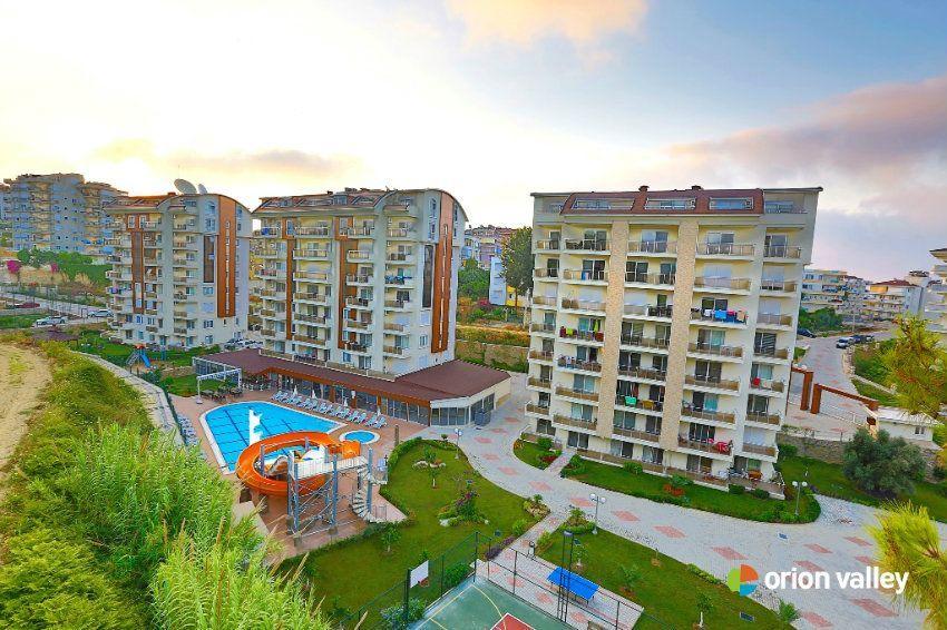 Квартира в Аланье, Турция, 44 м2 - фото 1