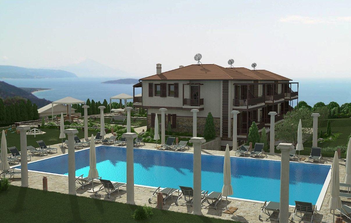 Таунхаус Халкидики-Афон, Греция, 130 м2 - фото 1