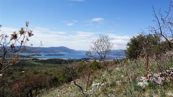 Земля на полуострове Луштица, Черногория, 9119 м2 - фото 1