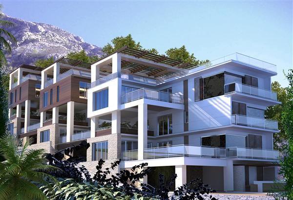 Апартаменты в Люте, Черногория, 117 м2 - фото 1