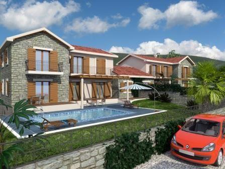 Дом на полуострове Луштица, Черногория, 3800 м2 - фото 1