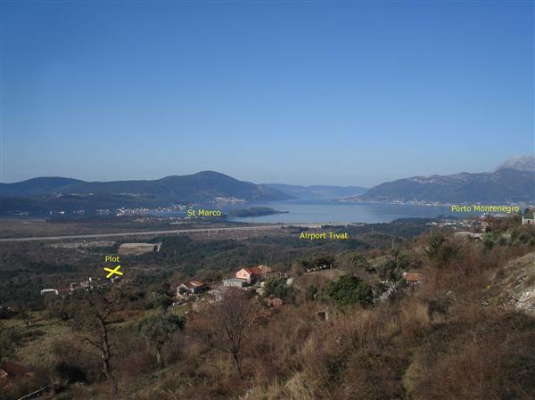 Земля в Которе, Черногория, 3600 м2 - фото 1