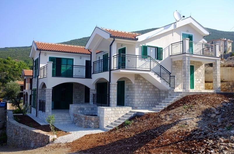 Апартаменты на полуострове Луштица, Черногория, 300 м2 - фото 1