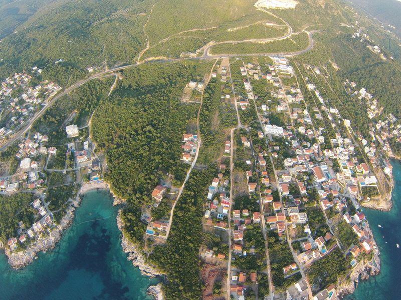 Земля в Утехе, Черногория, 427 м2 - фото 1