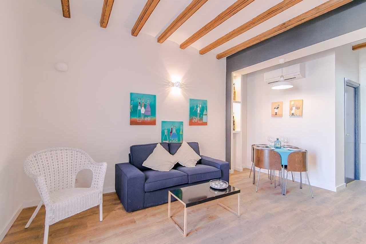 Квартира в Барселоне, Испания, 50 м2 - фото 1