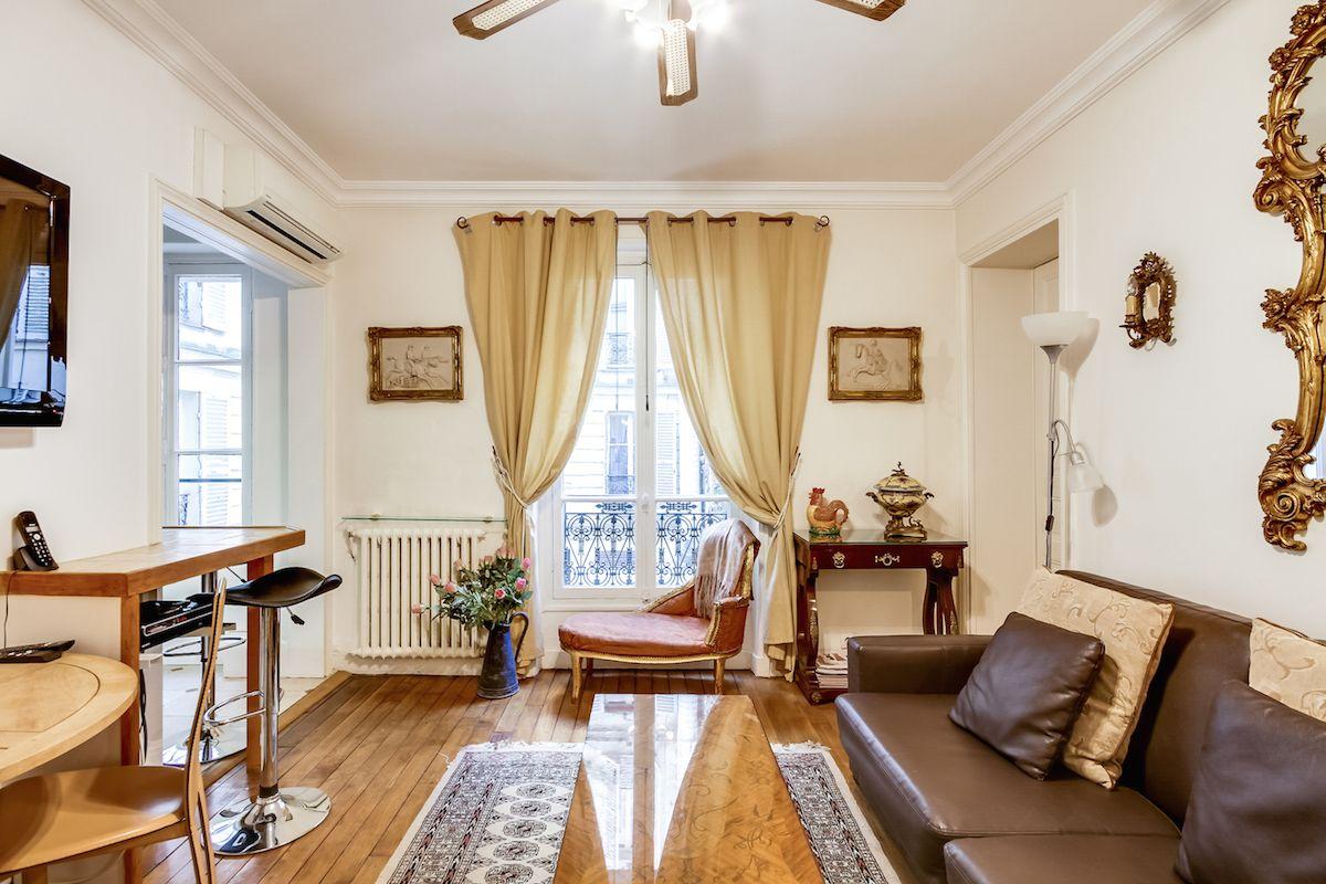 Квартира в Париже, Франция, 45 м2 - фото 1