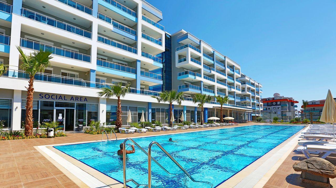 Апартаменты в Аланье, Турция, 65 м2 - фото 1